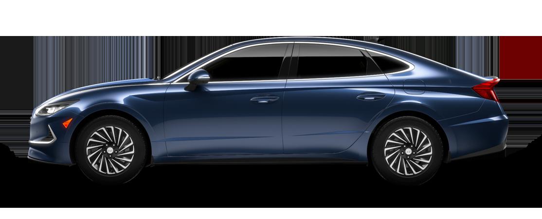 Hyundai SONATA hybride 2021 Bleu oxford