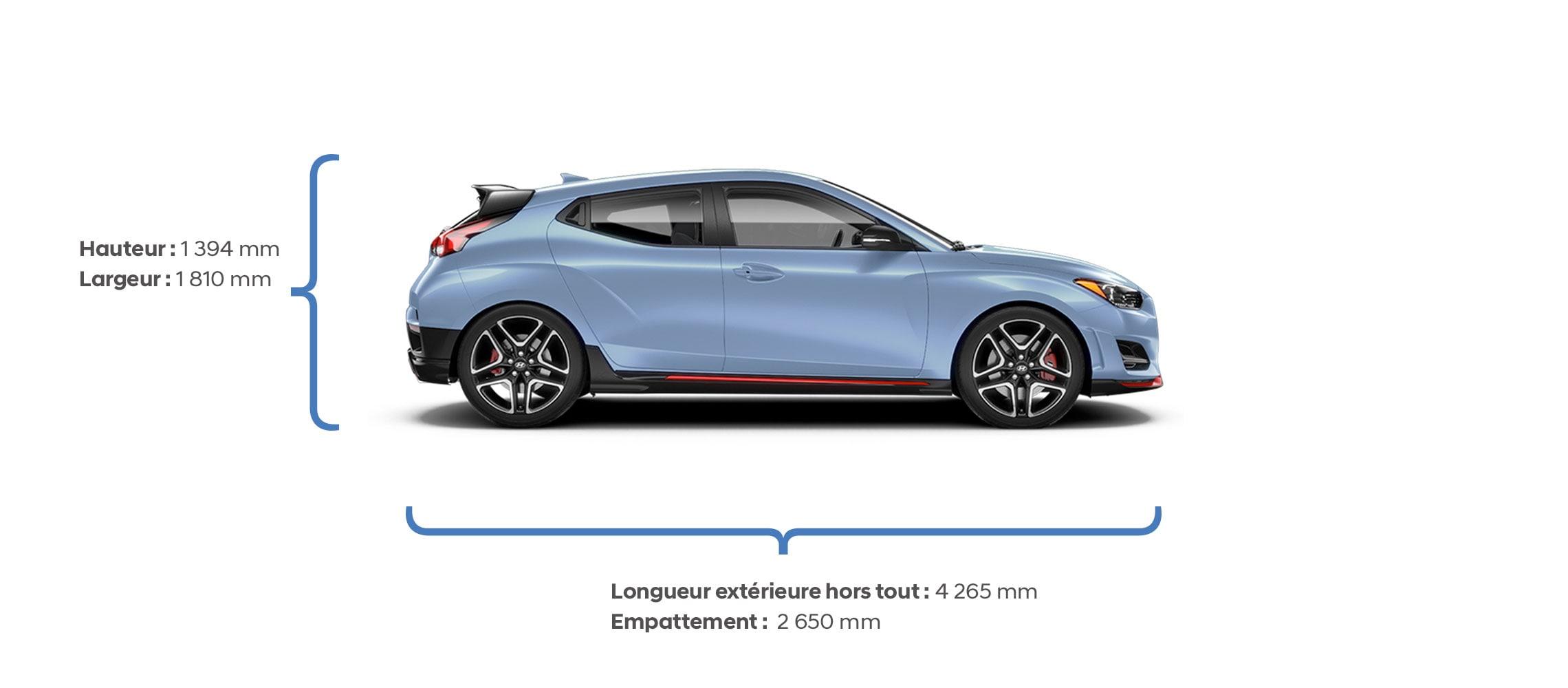 Veloster N 2021 | Spécifications | Hyundai Canada